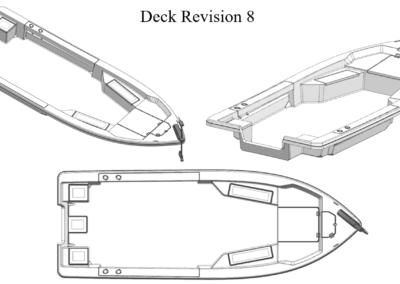 Bayrider Bay 239 - Deck Revision 8