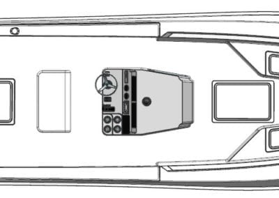 CHALLENGER 25 DECK LAYOUT ABOVE