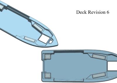Deck Revision - Bay Rider Bay 239 - Deck Revision