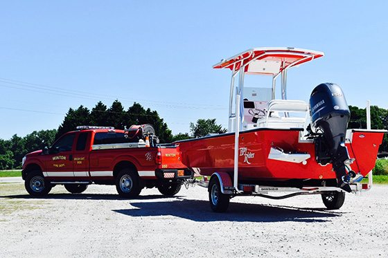 Fire Enforcement Boat