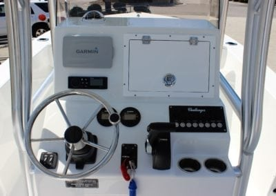 steering wheel/console of a challeneger