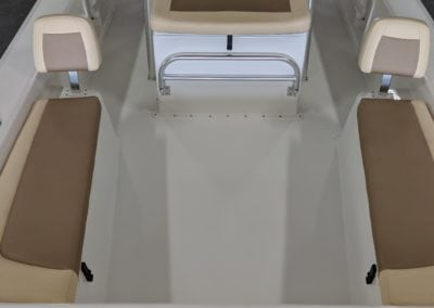 top view of the back of a bayrider 2260 fs